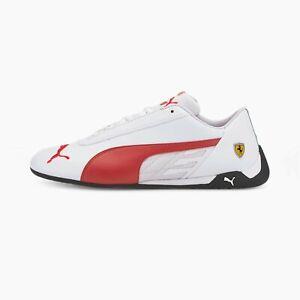 Puma Men's Scuderia Ferrari x R-Cat Rosso Corsa Shoes White/Red 339937-05 e