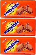 3 x OVOMALTINE Chocolate Bar - 3 x 100 gr = 300 gr -From Germany - Shipping Free