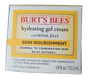 Burt's Bees Hydrating Gel Cream With Royal Jelly Skin Nourishment 1.8 Fl Oz