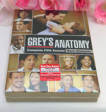 New Sealed Set DVD's Greys Anatomy Complete Fifth Season TV Series Medical Drama