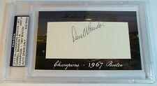 2012 Historic Autographs Darrell Bucky Brandon 1/8 HA auto 1967 Boston Red Sox