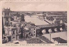 # BASSANO DEL GRAPPA: IL PONTE VECCHIO IN LEGNO E IL PONTE DELLA VITTORIA 1939