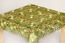 TABLECLOTH/ TABLE RUNNER FOR YOUR HOME 7 COLOURS AMAZING FLOWERS