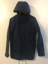 Carhartt Wip Work in Progress Battle Parka Jacke Mantel navy, Small. VG condition