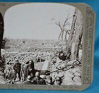 WW1 Stereoview Belgian Light Railway Elephant Shelters Yser Realistic Travels