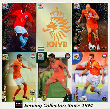 2010 Panini South Africa World Cup Soccer Cards Team Set Nederland (9)