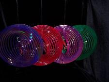 4x Windspiele / Delphin / Durchmesser ca. 19 cm / Neu / Garten / 4 Farben