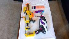 Nerf Dart Guns LOT Recon CS-6 Rebelle Rapid Fire Mini Mischief w/ Darts