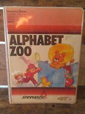 ALPHABET ZOO 1983 Home Computer Software Game For Atari 400 / 800