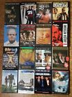 Drama DVD Lot Choose All You Want at $1.69 Each Buy 12 For Free Shipping All LN