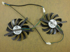 75mm EVGA Geforce GTX460 2WIN GTX560 TI Dual Fan Replacement PLD08010S12HH
