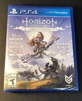 Horizon Zero Dawn Complete Edition [ First Print Blue Case ] (PS4) NEW
