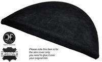 BLACK STITCH SPEEDO GAUGE HOOD SUEDE SKIN COVER FITS BMW 1 SERIES E81 E82 E87