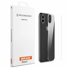 iPhone X Rear Back Glass Protector Patchworks ITG 9H Japan Tempered Glass Cover