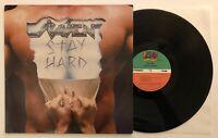 Raven - Stay Hard - 1985 US 1st Press (EX) Ultrasonic Clean