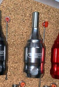 BIG WASP fully adjustable tattoo machine cartridge grip  POLISHED ALUMINUM  AZTS