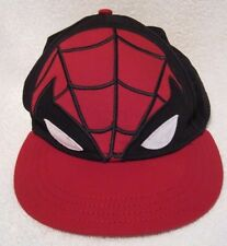 "Marvel World Spider Sense Spider Man cap/hat Size 7 1/8"" -14 and older- NWOT"