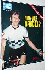 MIROIR CYCLISME N°94 1967 LEMETEYER RECORD HEURE BRACKE PEUGEOT MERCKX 6 JOURS