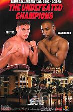 ACELINO FREITAS vs. JOEL CASAMAYOR On-site Boxing Program  NM-MINT