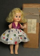 "Vintage 8.5"" Hard Plastic Advertising Premium Doll - Fortune Pam - Colgate"