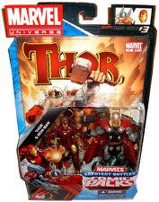 Marvel Universe Comic Book Packs Thor & Iron Man Greatest Battles Figures MIB #3