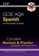 New GCSE Spanish AQA Complete Revision & Practice (with CD & Online Edition) -,