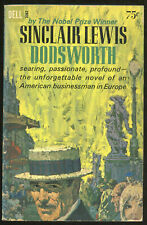 "Fiction PB: DODSWORTH by Sinclair Lewis. 1962.1st printing of ""New Dell Edition"""