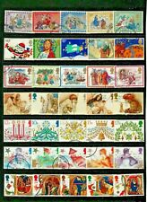 GB CHRISTMAS Thematic STAMP Collection USED Our Ref:QT118