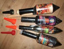 Attrappen Muster Raketen (gemischt z.B. Moog Weco Comet Feistel Silberhütte )