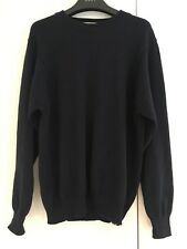 St Michaels Navy Blue Cotton Jumper Vgc Size Small