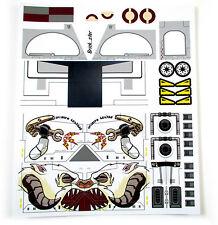 Custom 'Pre-Cut' stickers for LEGO 10195 Republic gunship & AT-OT ,toys, etc