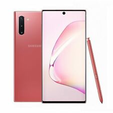 Samsung Note 10 N970F 256GB DUOS GSM Unlocked Android Phone - Aura Pink