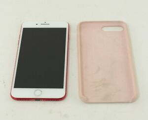 Apple iPhone 7 Plus A1661 128GB Product Red GSM Unlocked Smartphone; ABT 480139