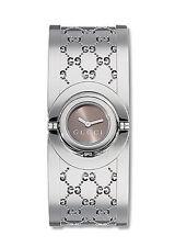 Gucci Armbanduhren im Luxus-Stil aus Edelstahl für Damen