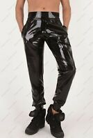 Latex Trousers Rubber Gummi Male High Waist Pants Jeans Cool Customized 0.4mm