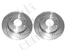 FOR STARLET 1.3 TURBO EP82 EP91 GLANZA V FRONT DRILLED GROOVED BRAKE DISC DISCS