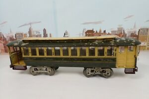 Original Antique 1910 Prewar Lionel Standard Gauge No.8 Pay As You Enter Trolley