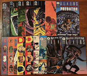 Aliens & Predator LOT...1st Prints VARIANTS VS. Dark Horse Presents Marvel VF/NM