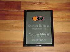 2005 Georgia Bulldogs Younes Idrissi Most Improved Basketball Award
