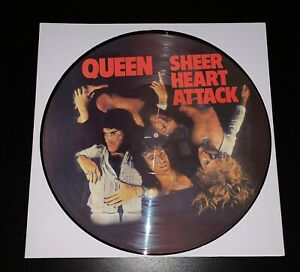 Queen Sheer Heart Attack Lp Picture Disc Rare