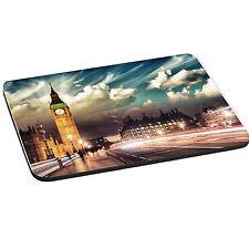 London, Big Ben Theme 5mm Thick Rectangle Mouse Mat/Pad