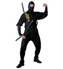 Widmann 39192 Costume Ninja M Casacca Pantaloni Cintura