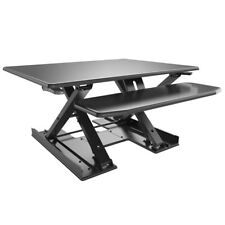 Height Adjustable Standing Desk Vertical Riser Sit/ Stand Up Desk Computer Table