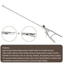 Laparoscopic Simulation Training Instruments Needle Holder Forceps Educational