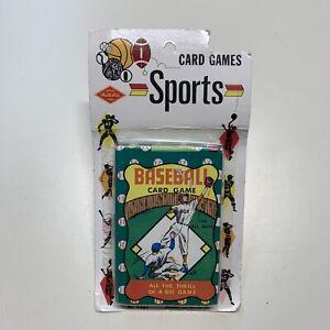1960's Built Rite Warren Game Baseball Card Pocket Size Vintage Game NEW NOS