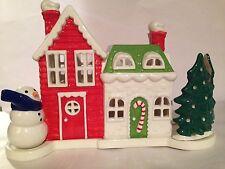 BATH & BODY WORKS CHRISTMAS HOLIDAY VILLAGE LUMINARY *MINI* CANDLE HOLDER.