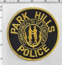 Park Hills Police (Kentucky) 1st Issue Uniform Take-Off Shoulder Patch
