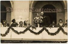 Theater play Jedermann with Death Original Antique Photo Postcard Germany