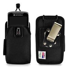 Zebra Motorola TC55 Touch Mobile Computer Nylon Scanner Holster- 2 Belt Clips