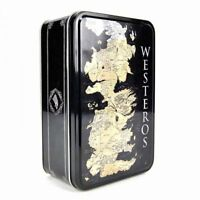 Game of Thrones - Brotdose Sandwichdose Lunchbox - Landkarte - Westeros Logo